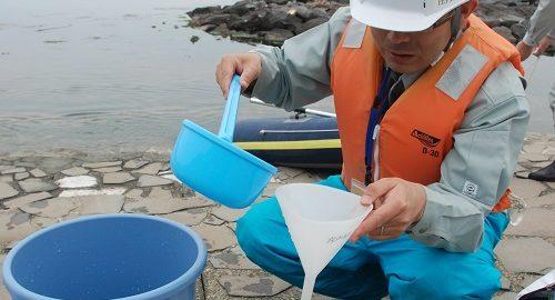 海水浴場水質調査1